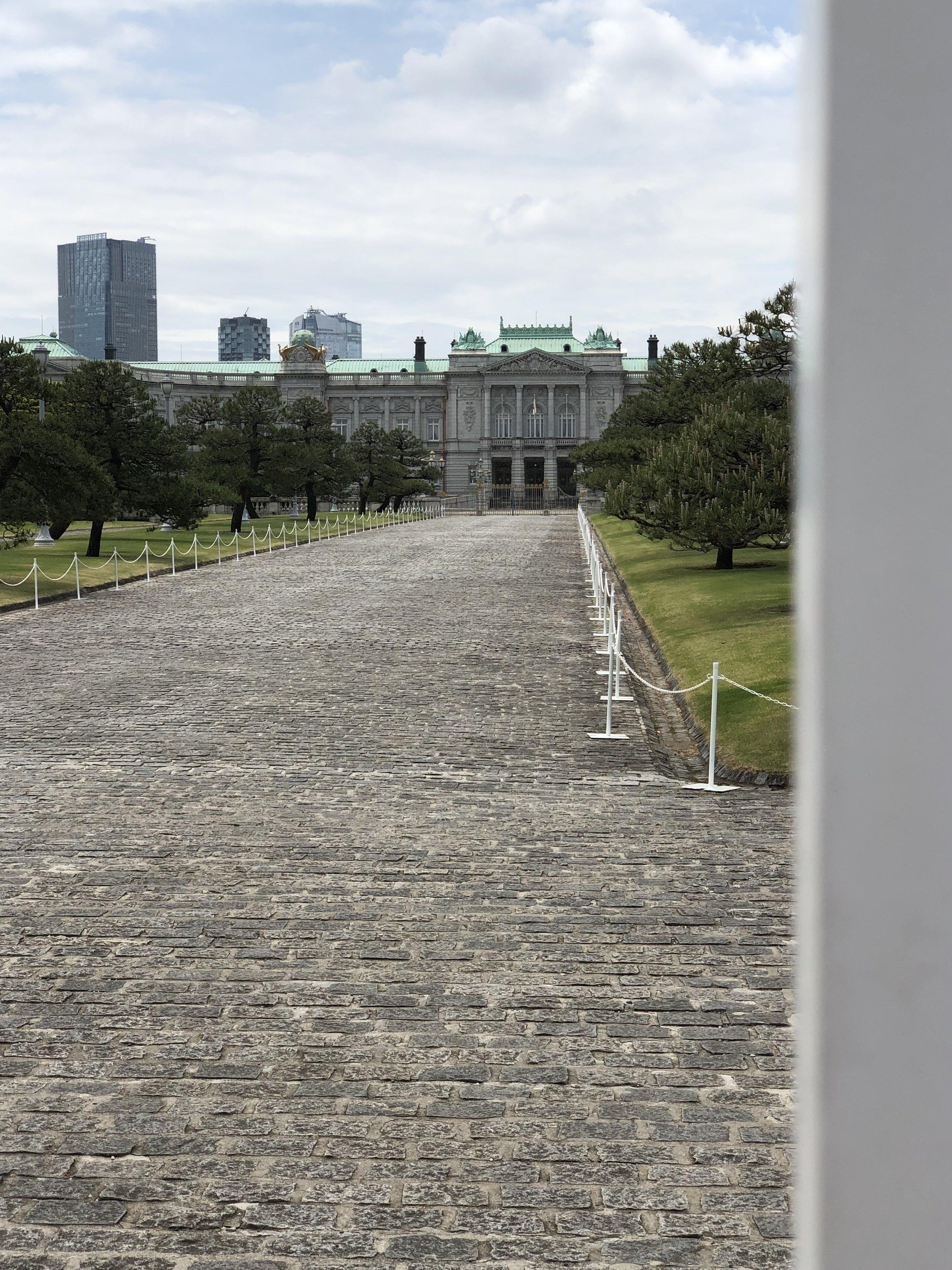 Royal Palace (behind gates)