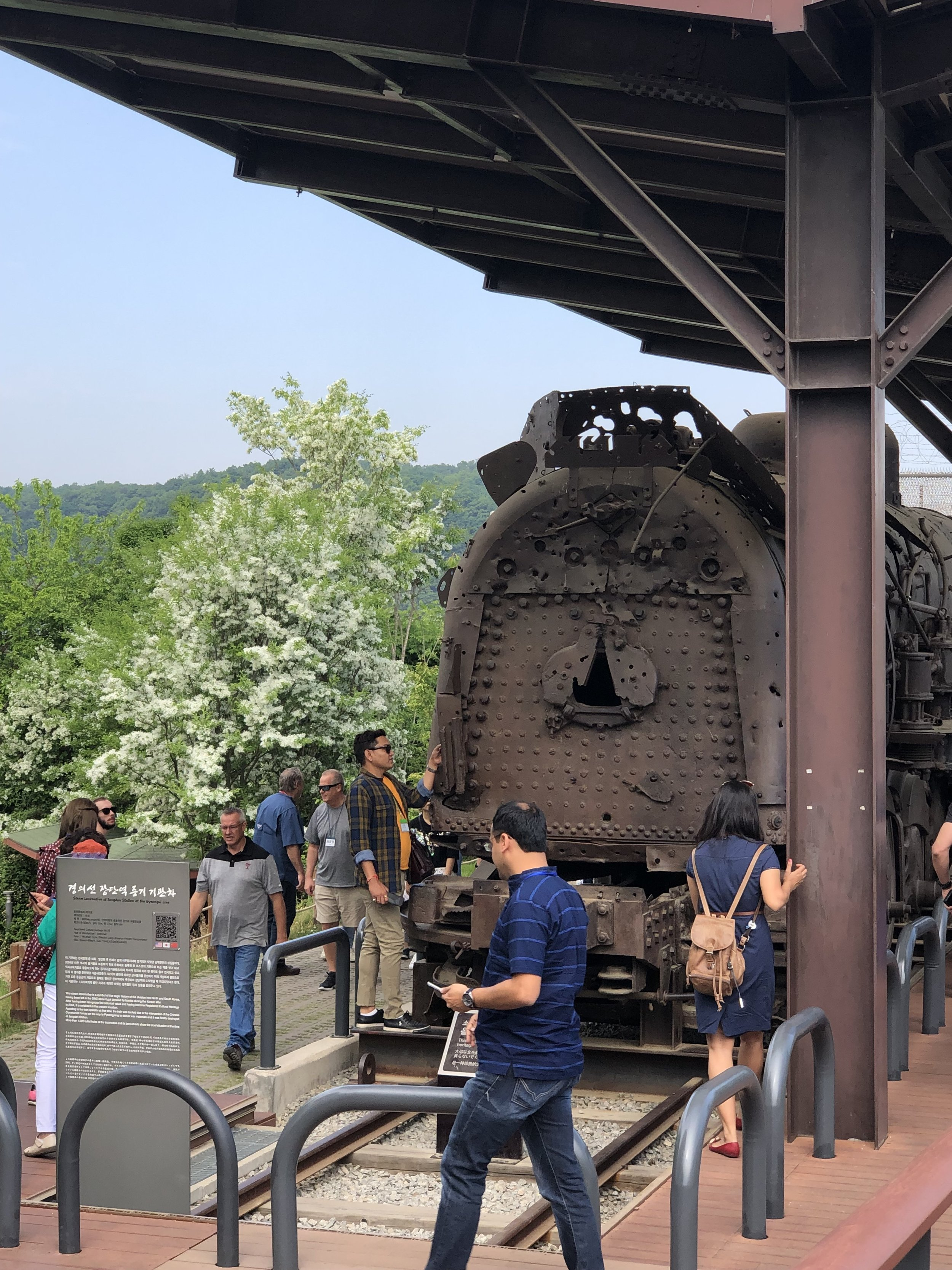 Train to North Korea (DMZ)