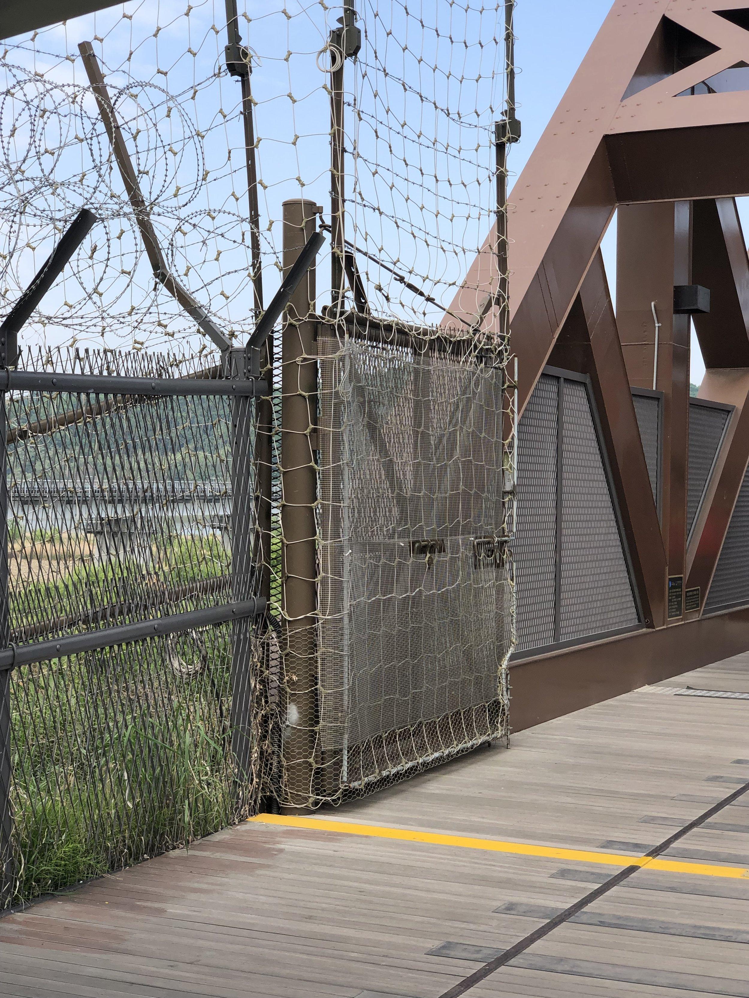The original bridge to the North (DMZ)
