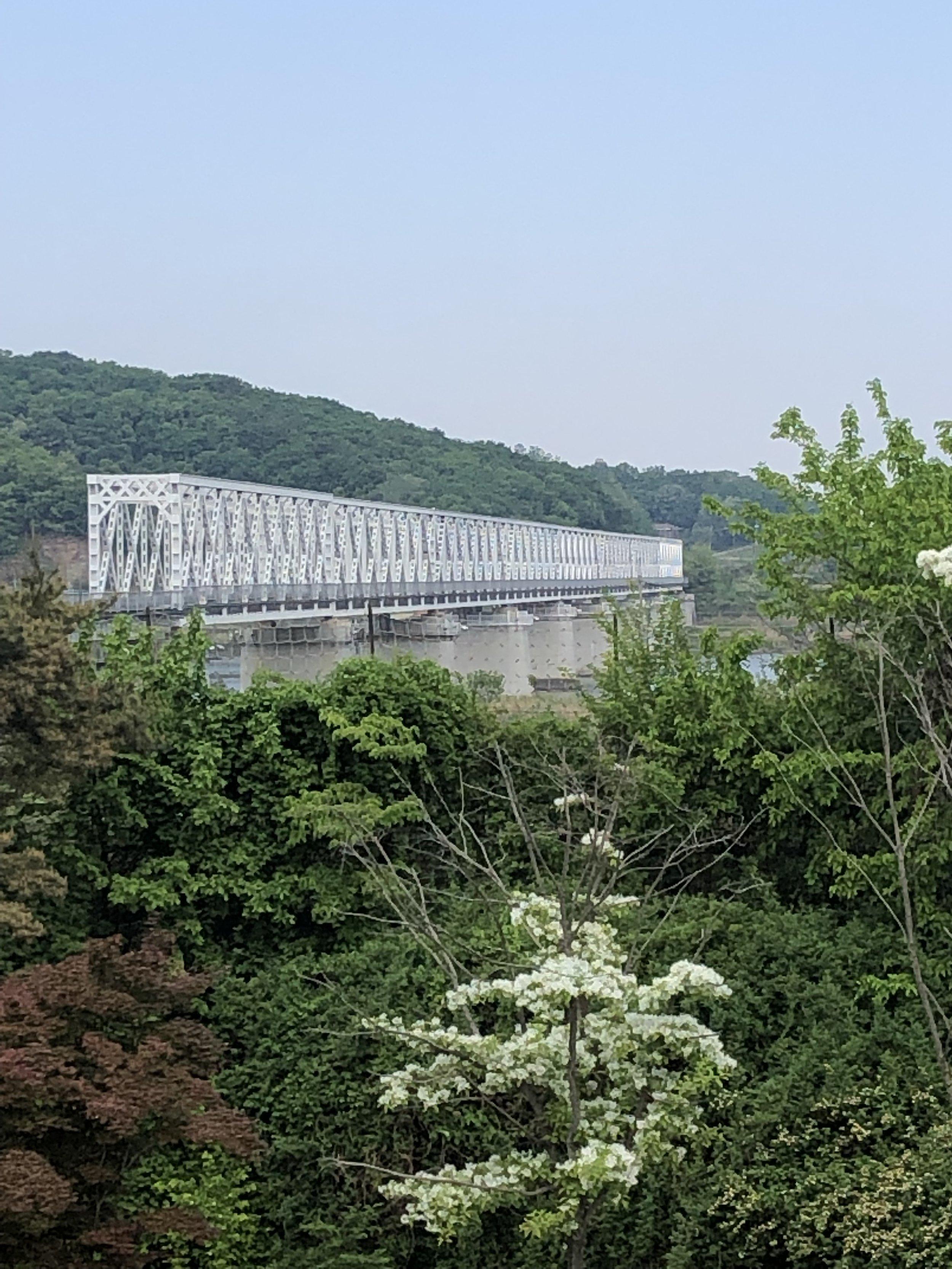 The new bridge to the North (DMZ)