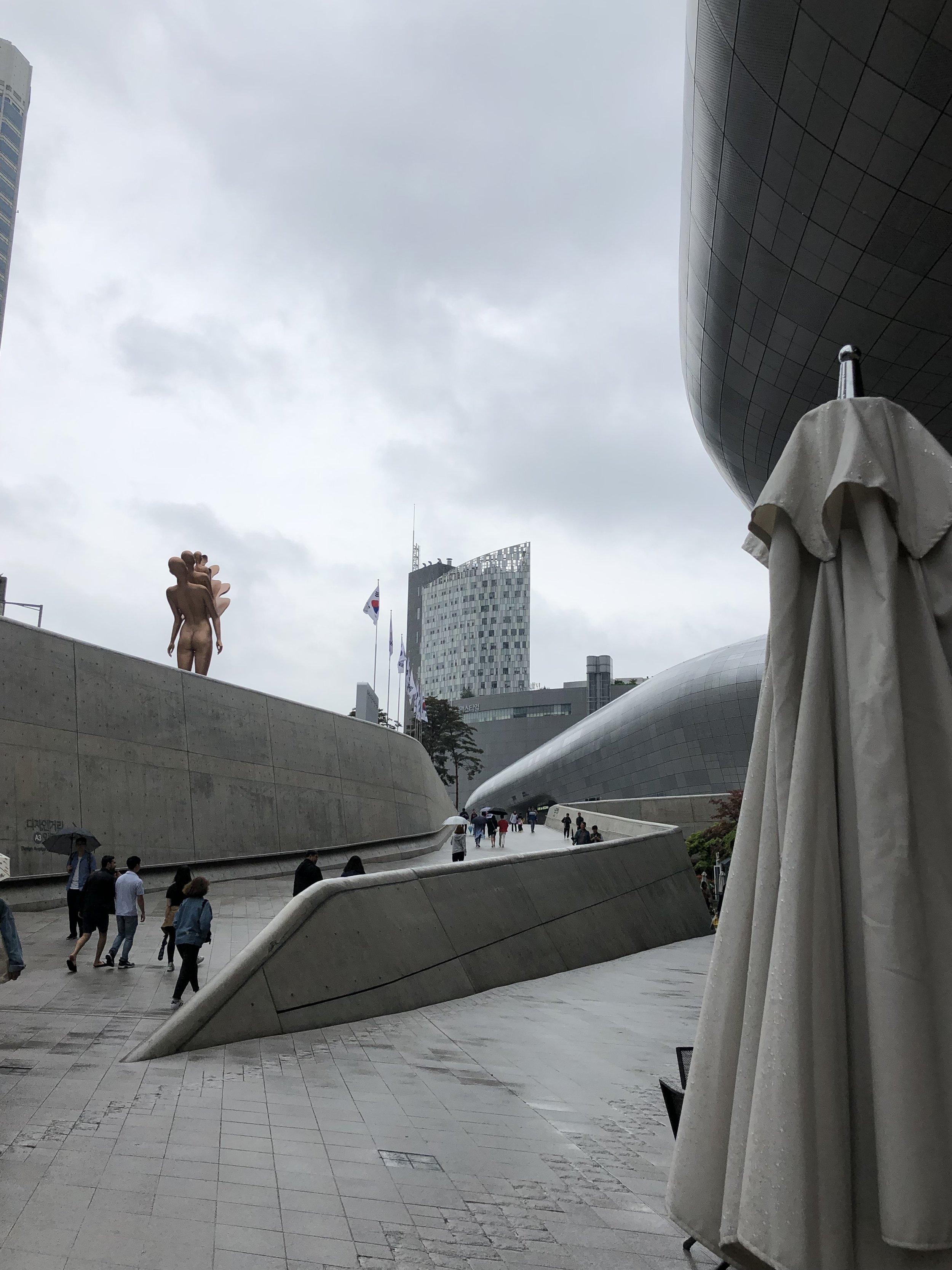Zaha Hadid's last act (DDP in Seoul)