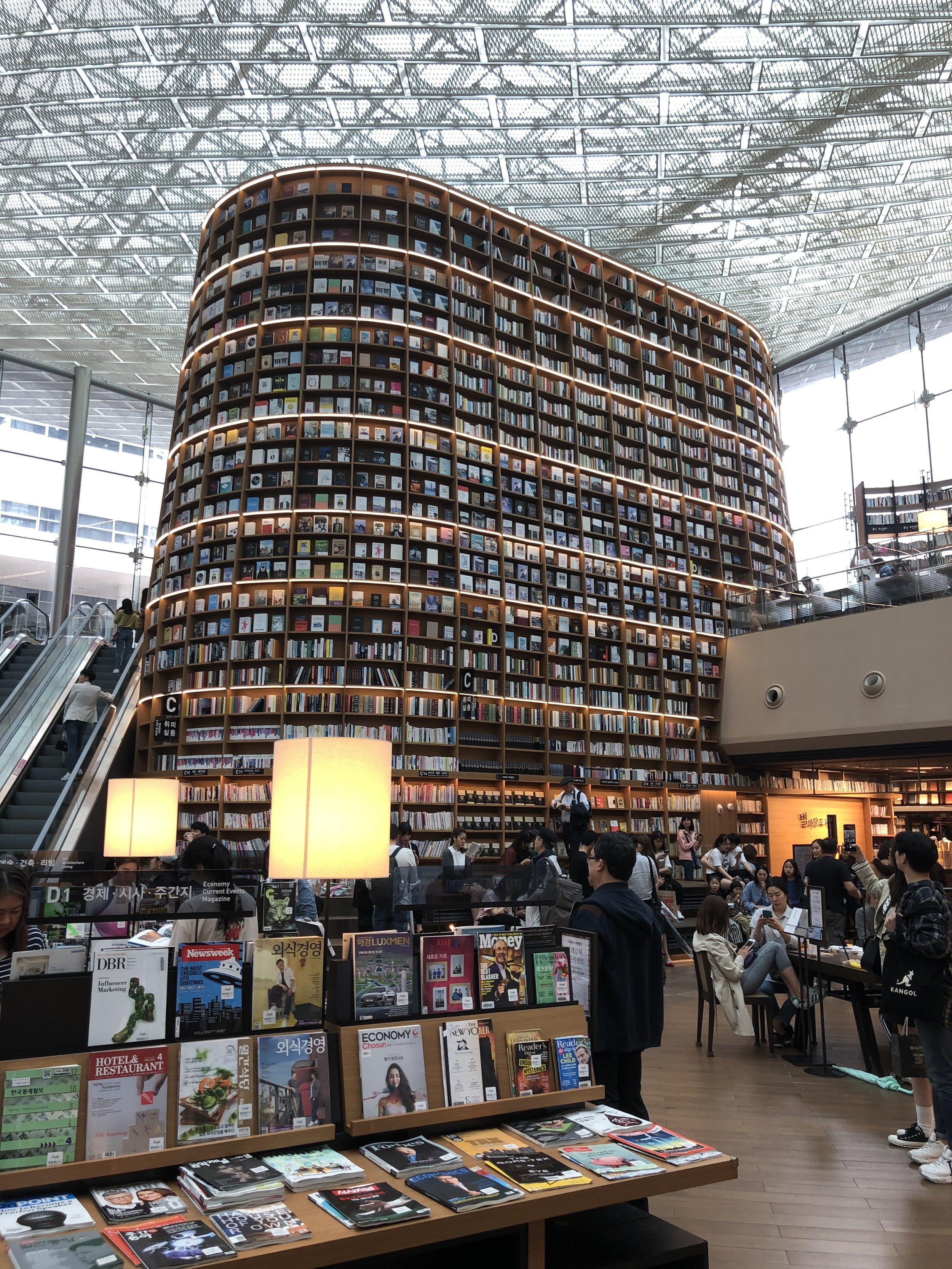 People read a lot of books in Korea (Seoul)
