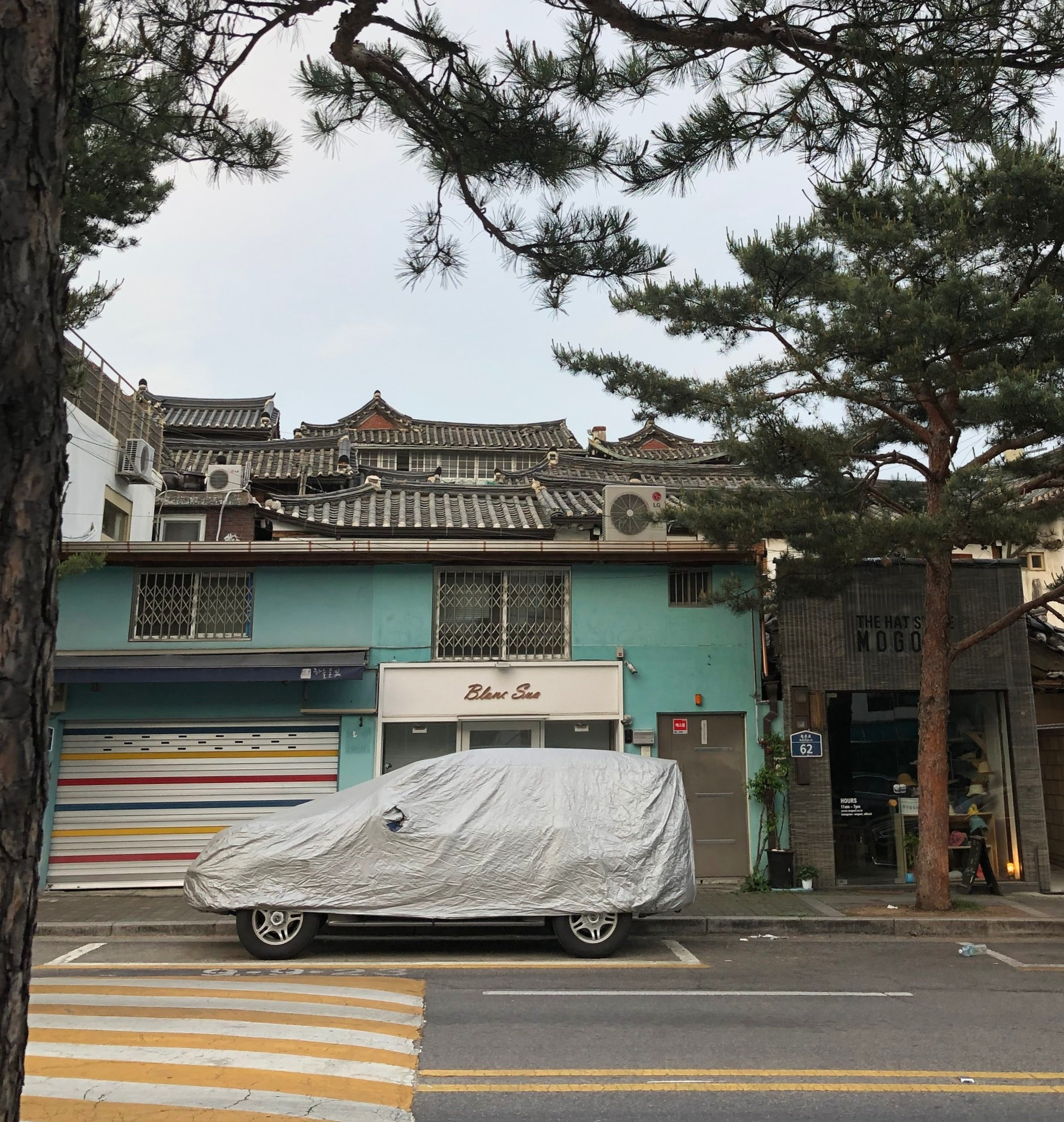 Old roofs (Seoul)