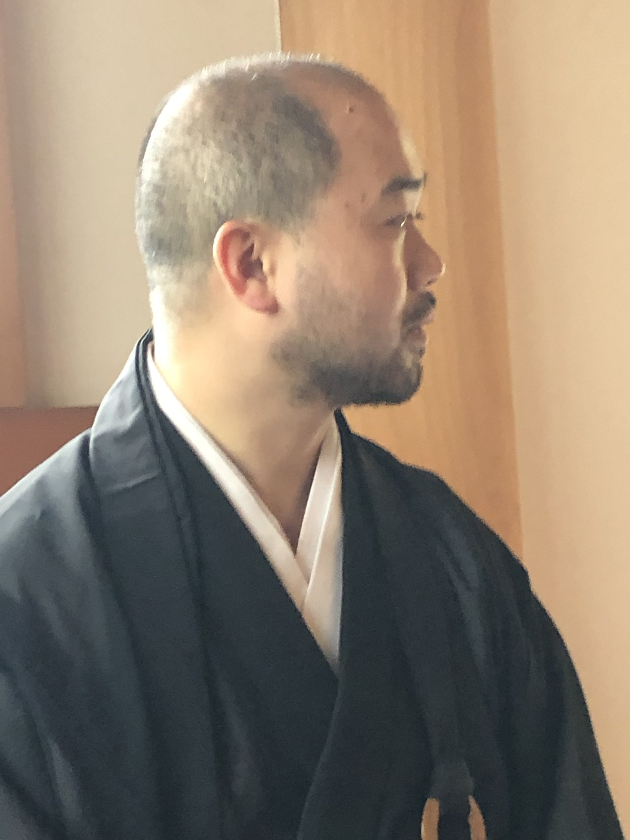 Our monk friend (Kyoto)