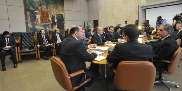 Reunião Copom 2012. (Fonte: Agência Brasil)