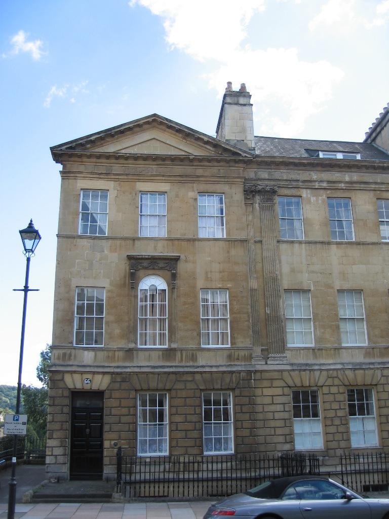 TOTAL REFURBISHMENT ALL 6 FLOORS - 66 GREAT PULTNEY STREET, GRADE I LISTED BUILDINGBATH UK