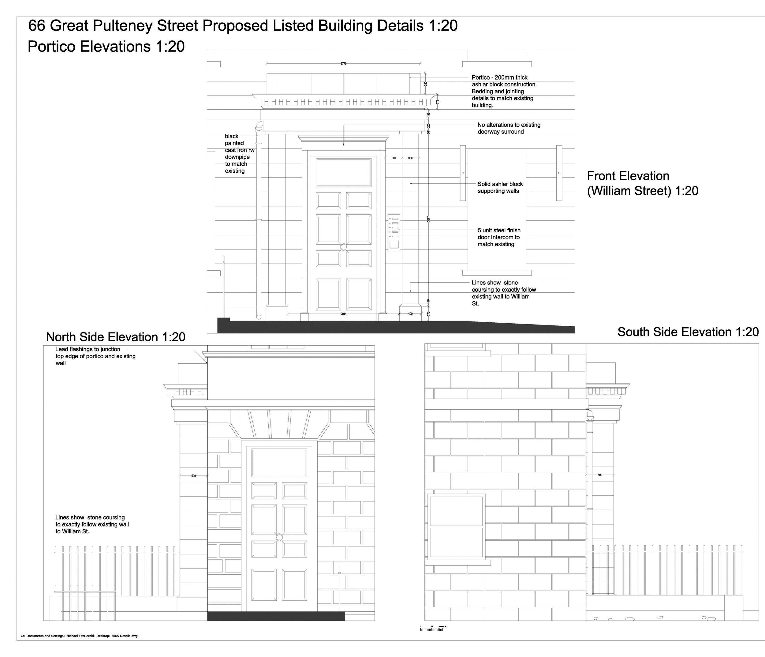OTAL REFURBISHMENT ALL 6 FLOORS - 66 GREAT PULTNEY STREET, GRADE I LISTED BUILDINGBATH UK