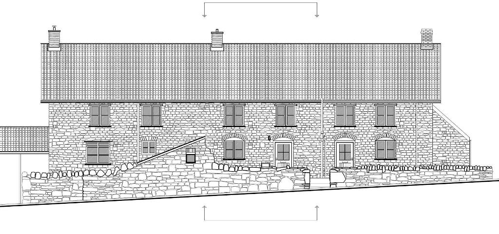 NEW EXTENSION + ATTIC CONVERSION, POPPY COTTAGE, EAST HARPTREE, CHEW VALLEY UK