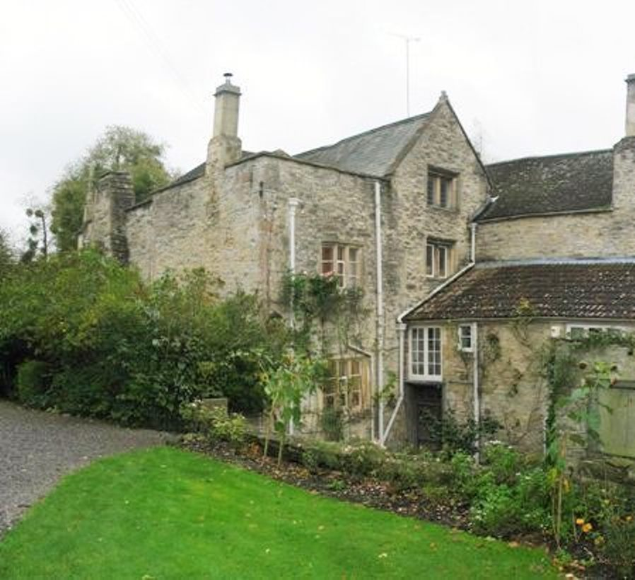 BEFORE - NEW BUILD KITCHEN EXTENSION, PILTON MANOR GRADE I LISTED BUILDING, PILTON, UK