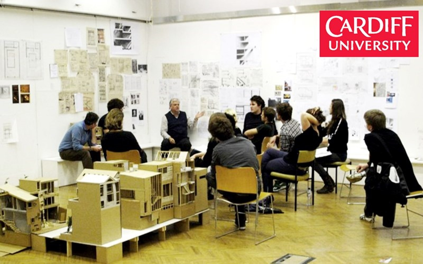 2008 - 2010 DESIGN TUTOR,  ARCHITECTURE DEGREE,  CARDIFF UNIVERSITY, WALES