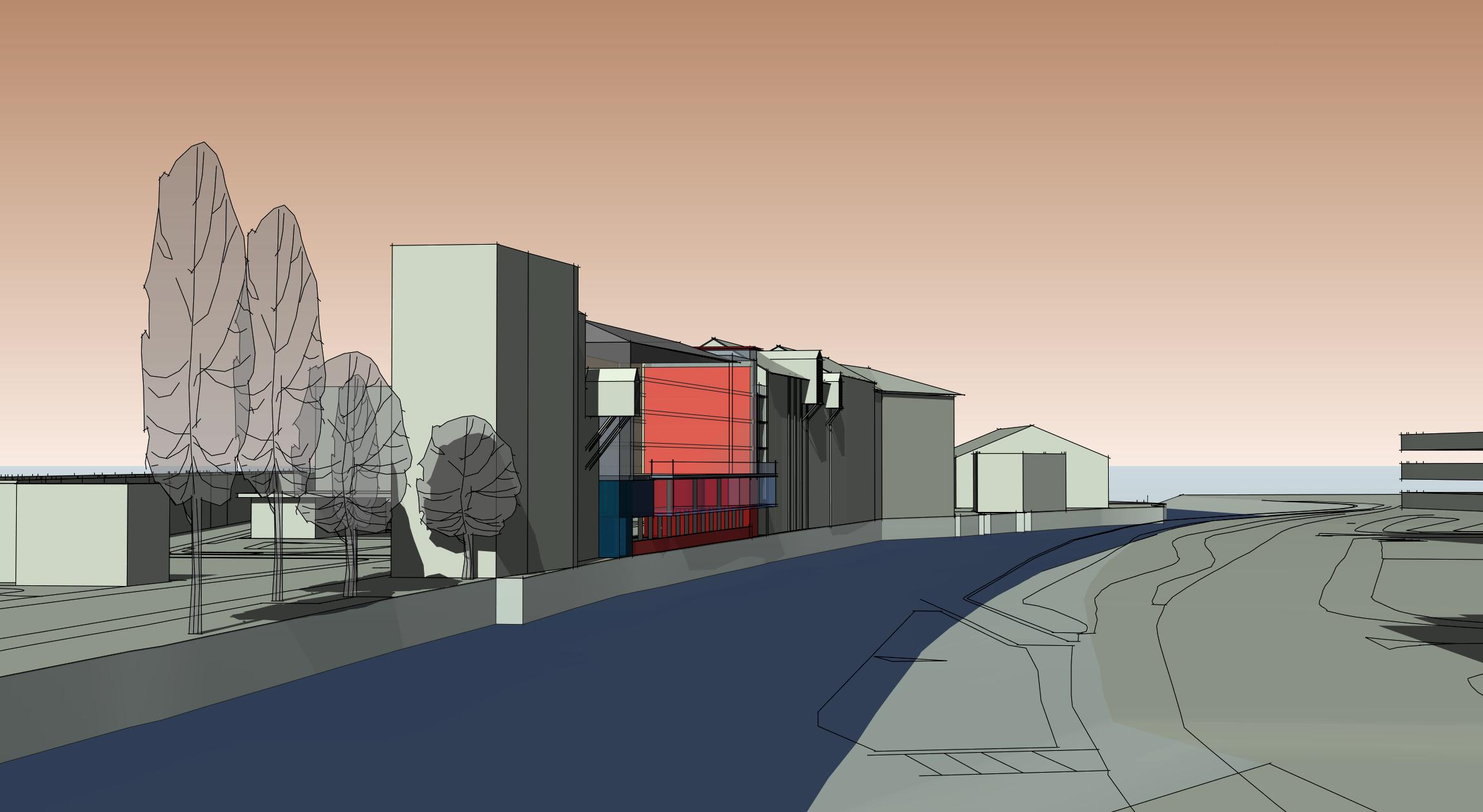 NEW BUILD OFFICE FEASIBILITY, BURO HAPPOLD ENGINEERS, BATH UK