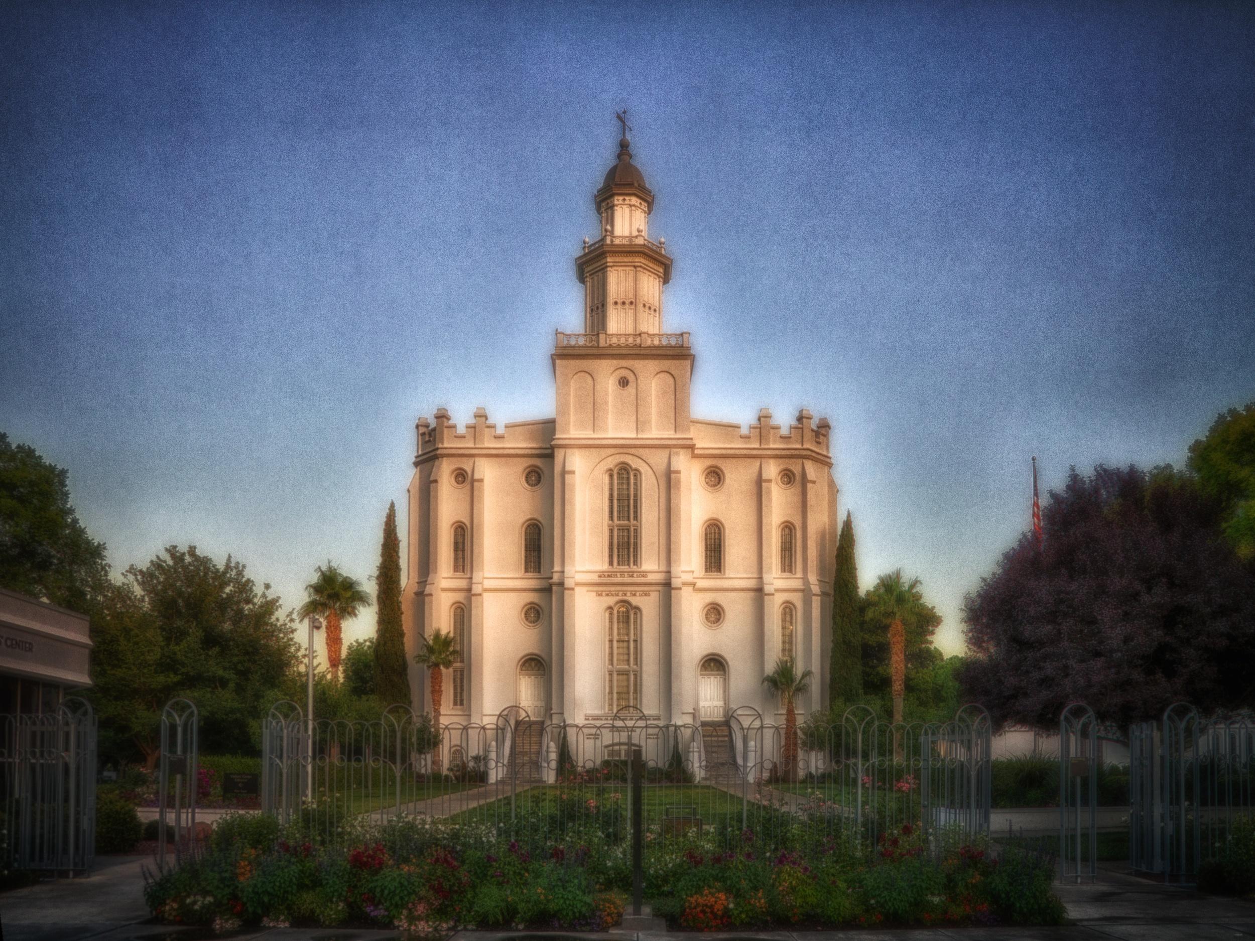 St. George Utah Temple 2984