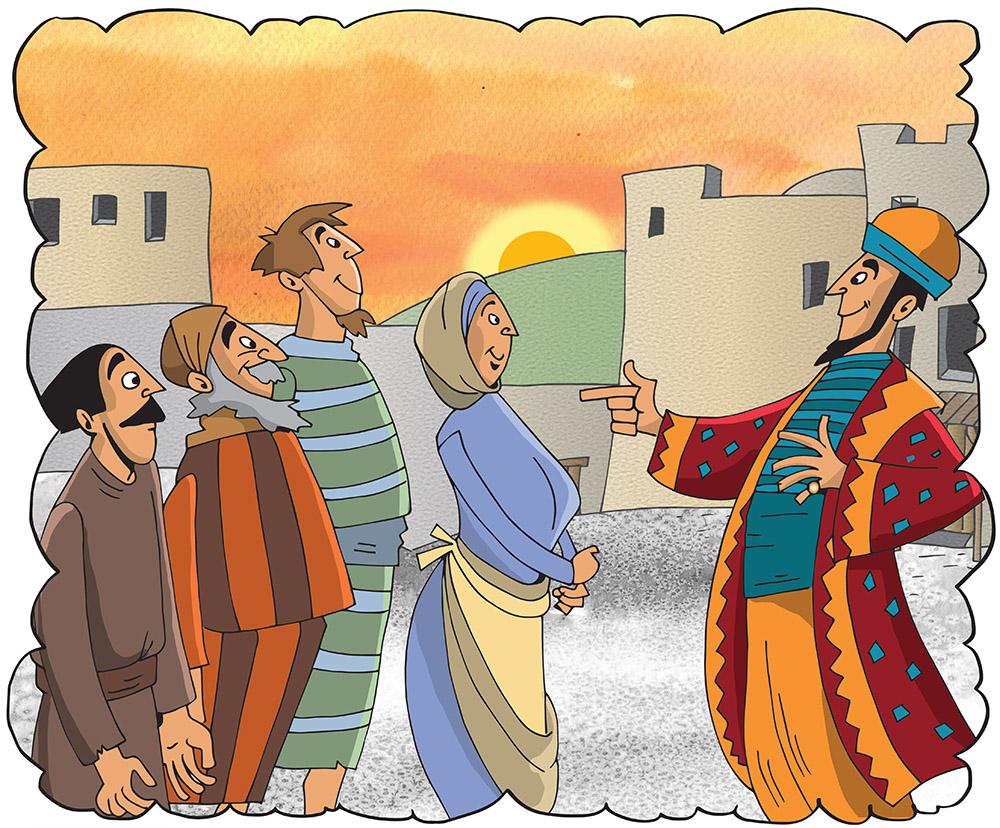 Bibelfortellinger, illustrasjoner