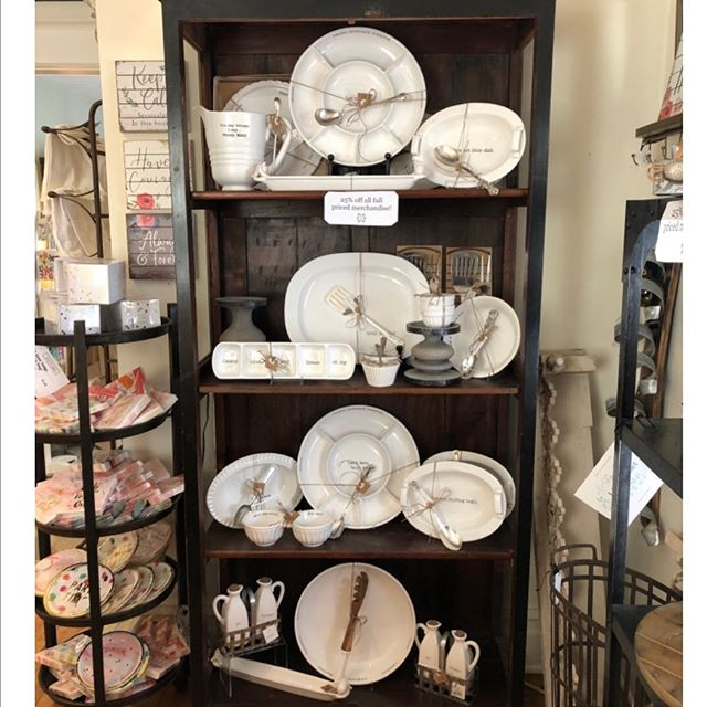 NEW MARKDOWNS!  Store Closing Sale ________________  Everything in the Boutique is 25% to 50% off  All Furniture and Fixtures Vintage Furniture Home Decor Gifts Apparel and Shoes Jewelry Hobo bags  __________________________________  Boutique Open Everyday  Join us TODAY, Saturday, April 13th for our  WAREHOUSE SALE  Great Deals in the Warehouse at 50% to 95% off  Warehouse open 12 to 5 Boutique 10 to 5  The Warehouse is located next door to Lily and Violet Boutique (the red house)  Closing the end of April