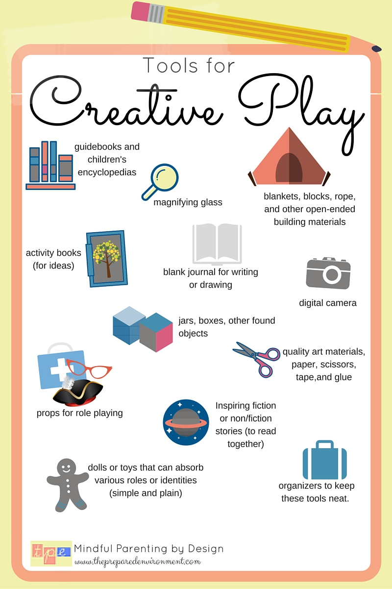 Tools for Creative Play