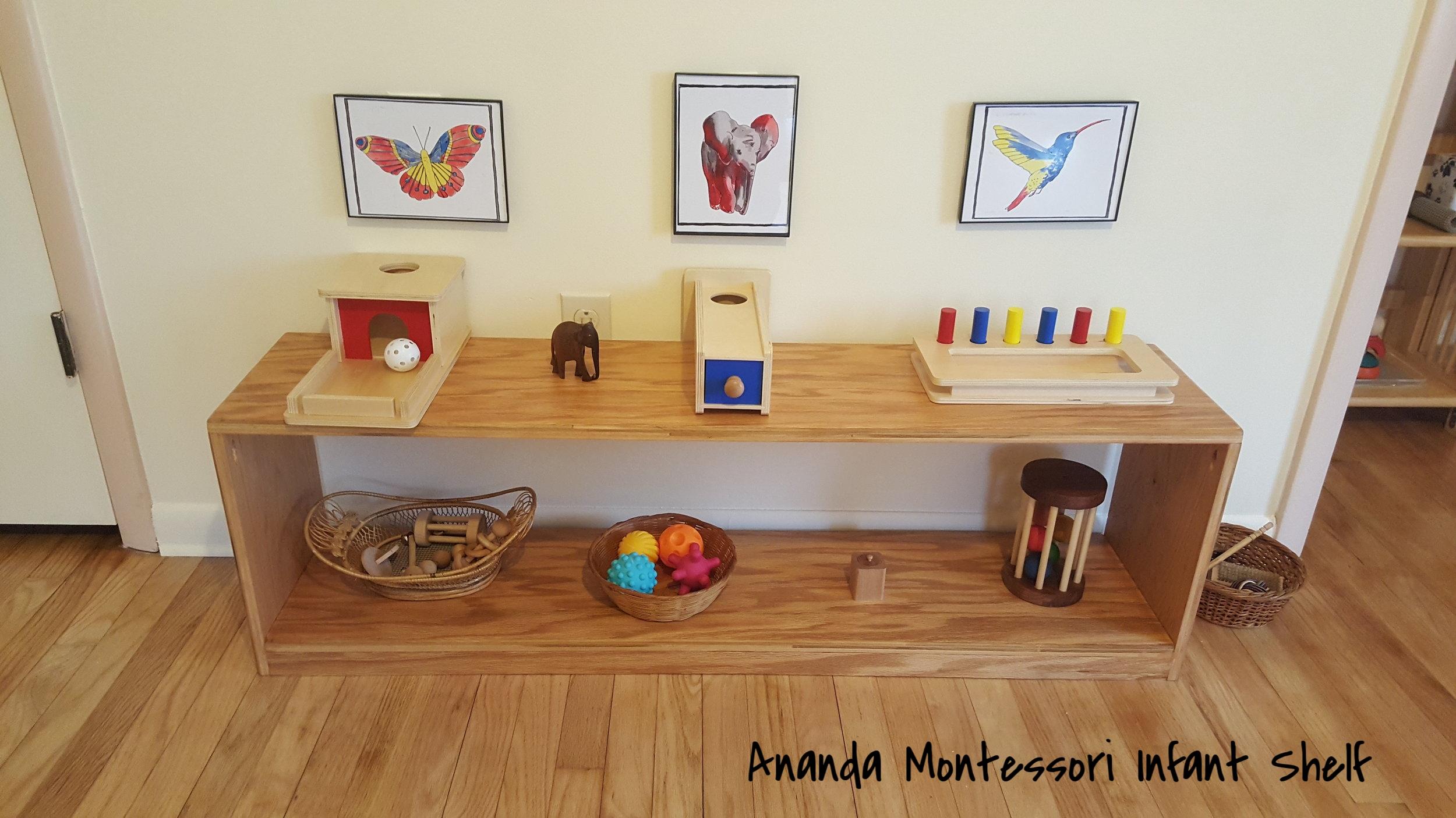 Ananda Montessori Infant Shelf