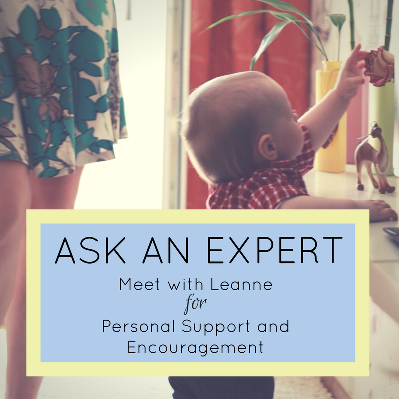 Ask an Expert for personal support and encouragement in mindful parenting