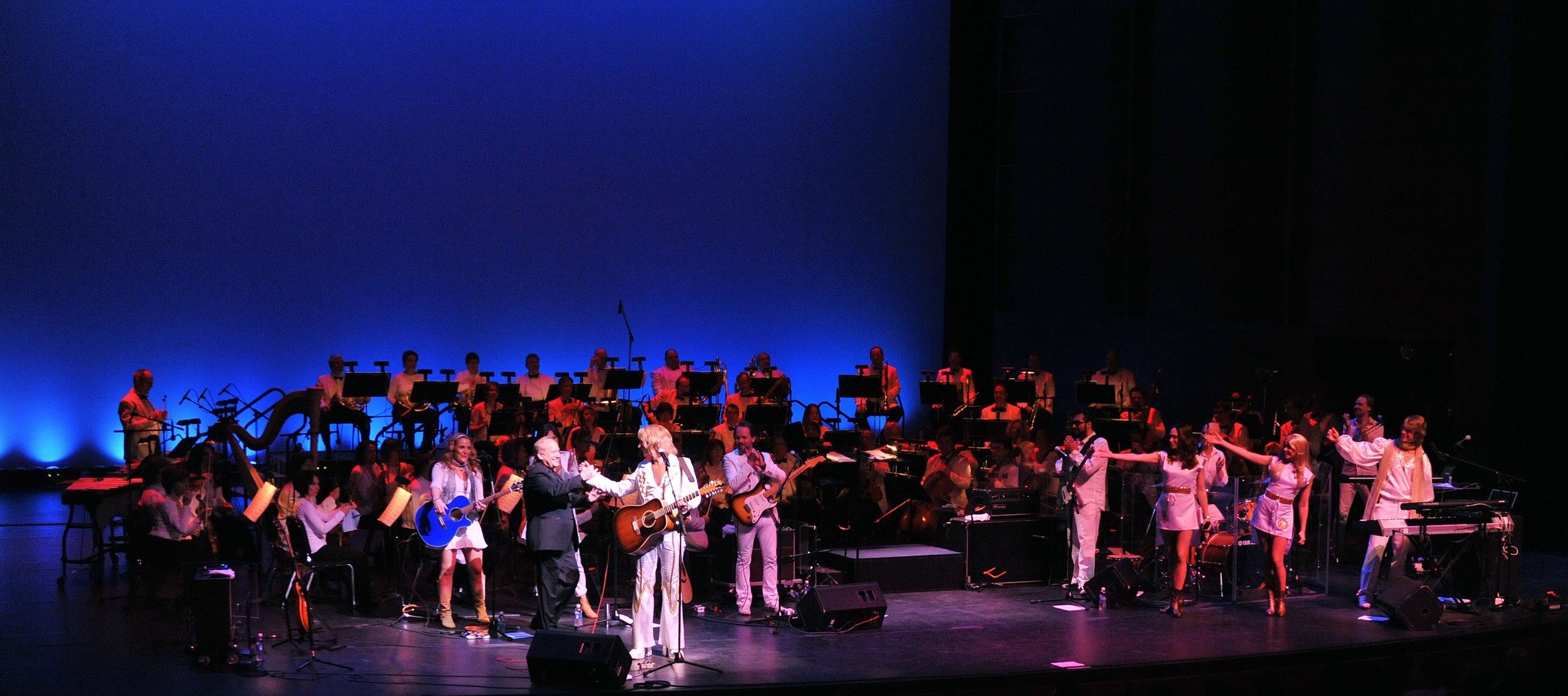 2012, Waterloo, bows onstage banner, with the Oklahoma City Philharmonic.jpg