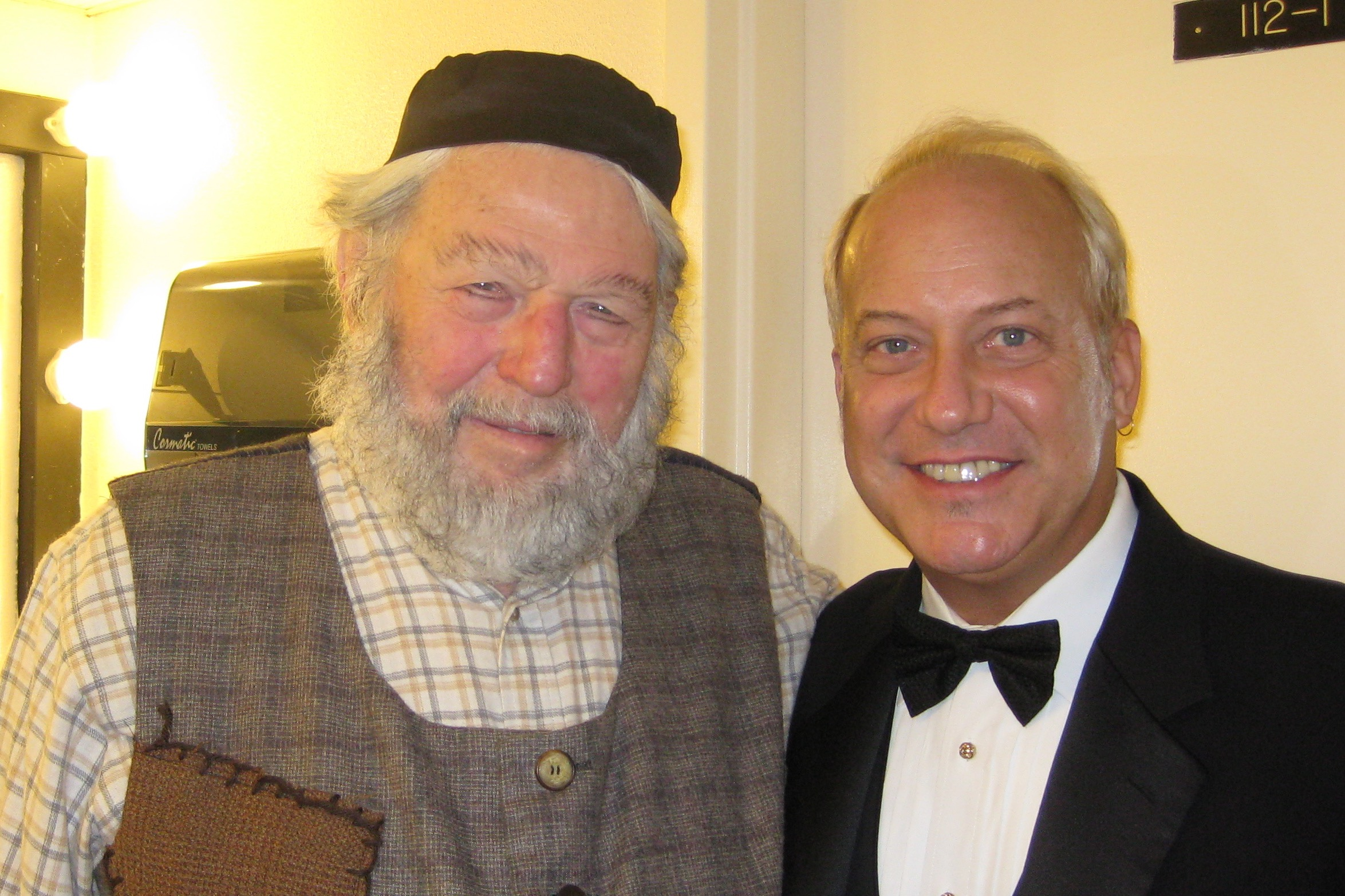 2010, Fiddler on the Roof, with Theo Bikel.jpg