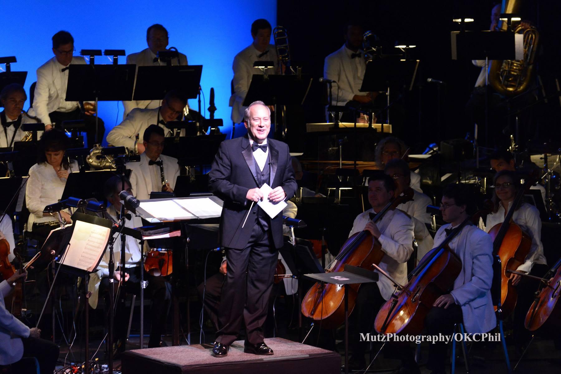 with the Oklahoma City Philharmonic