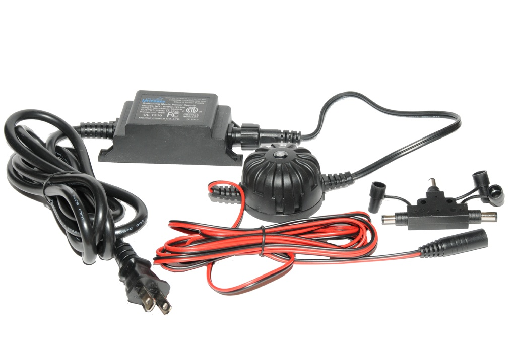 12 Volt / 12 Watt PowerSupply - With Photo Eye