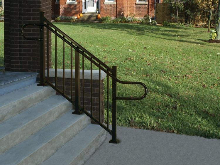 Continuous Aluminum Handrail - ADA Compliant Handrail