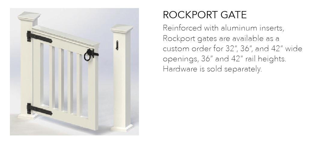 Rockport Railing Gate
