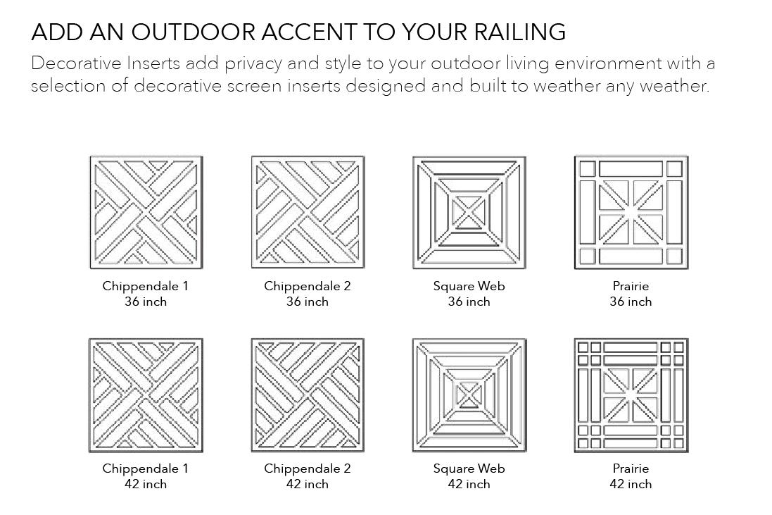 Rockport Railing Decorative Styles