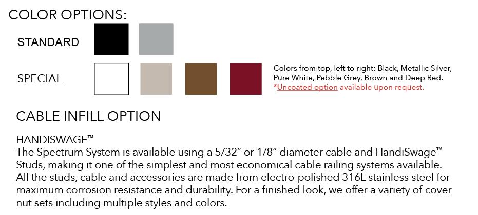 Spectrum Railing System