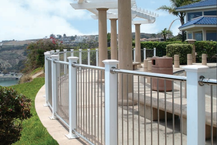 Custom with Balusters -