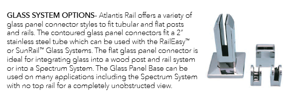 RailEasy Glass System Options