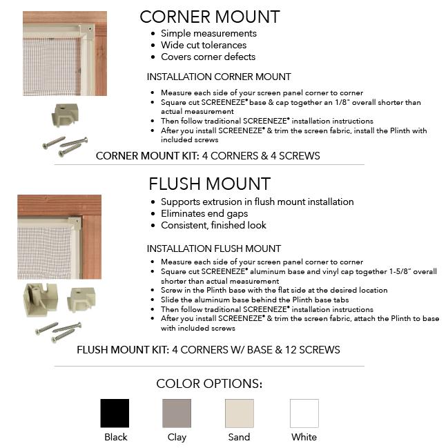 Plinth Mounting System