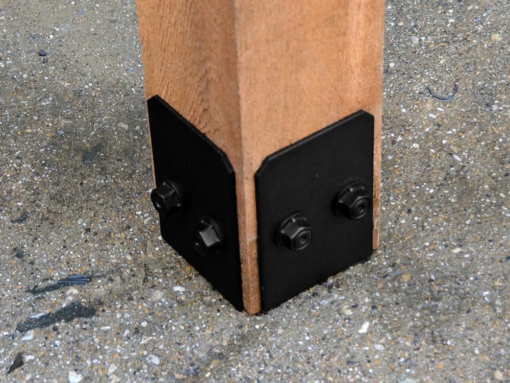 Faux Post Bases -