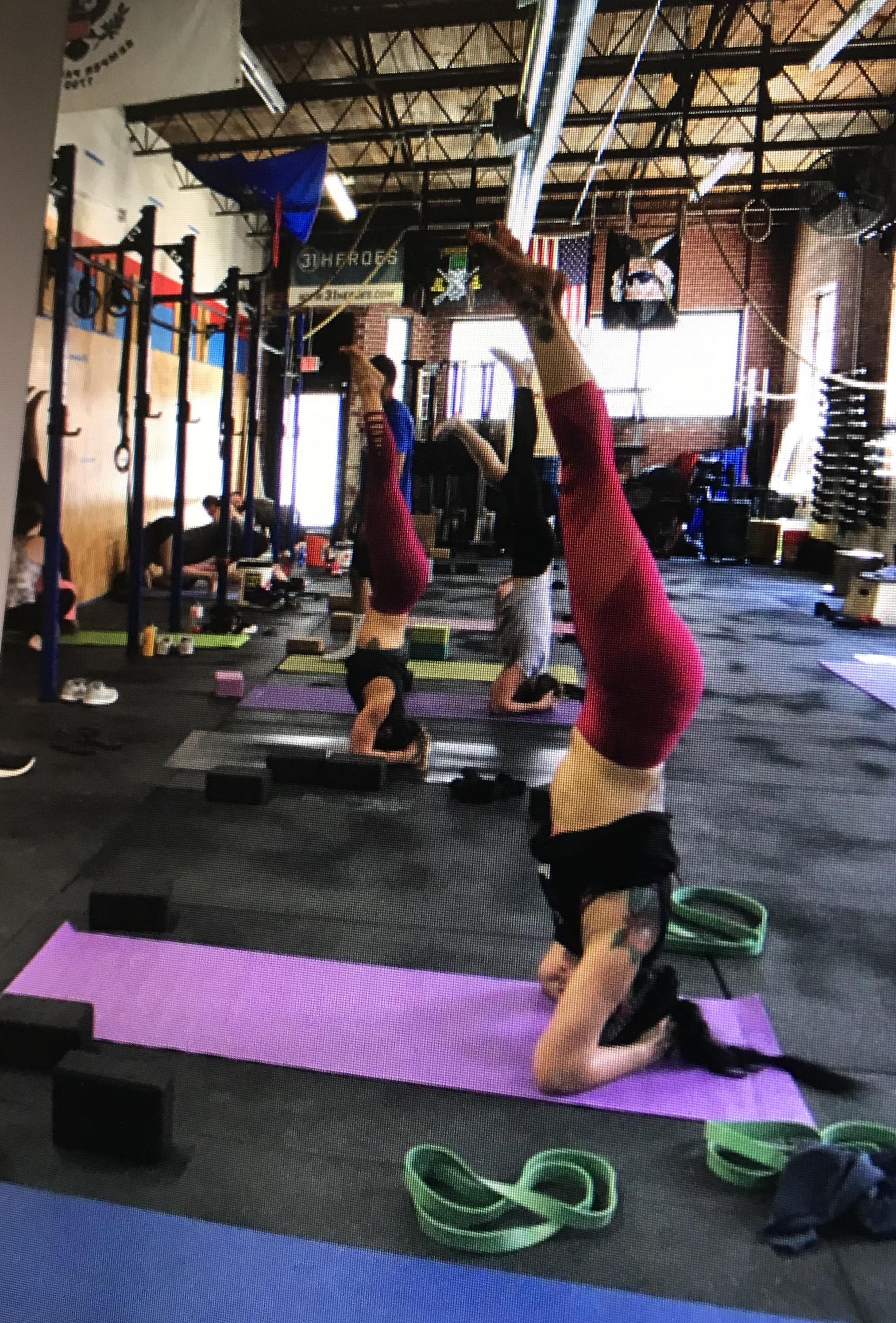 Teaching Handstand & Inversion Workshops -
