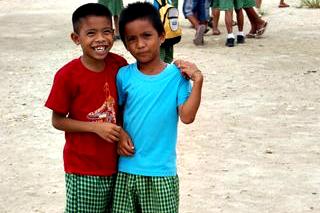 Boys at local school