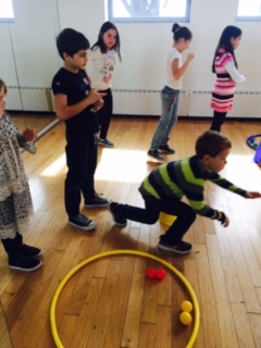 The Lower Elementary West students enjoyed PE class with Coach Mona.