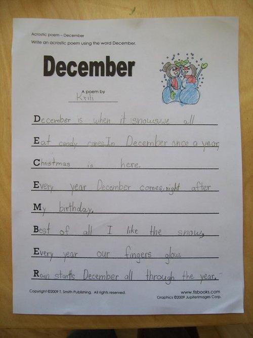 December 15 2010 Dan Wheeler Lower Elementary Students