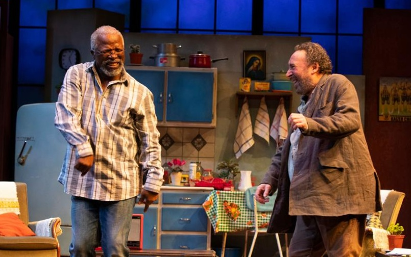 KUNENE AND THE KING   A new play by  John Kani  in a co-production between the  RSC  and the  Fugard Theatre  in Cape Town, performed at both theatres in Spring 2019.  Written by  John Kani  | Directed by  Janice Honeyman  | Design:  Birrie Le Roux