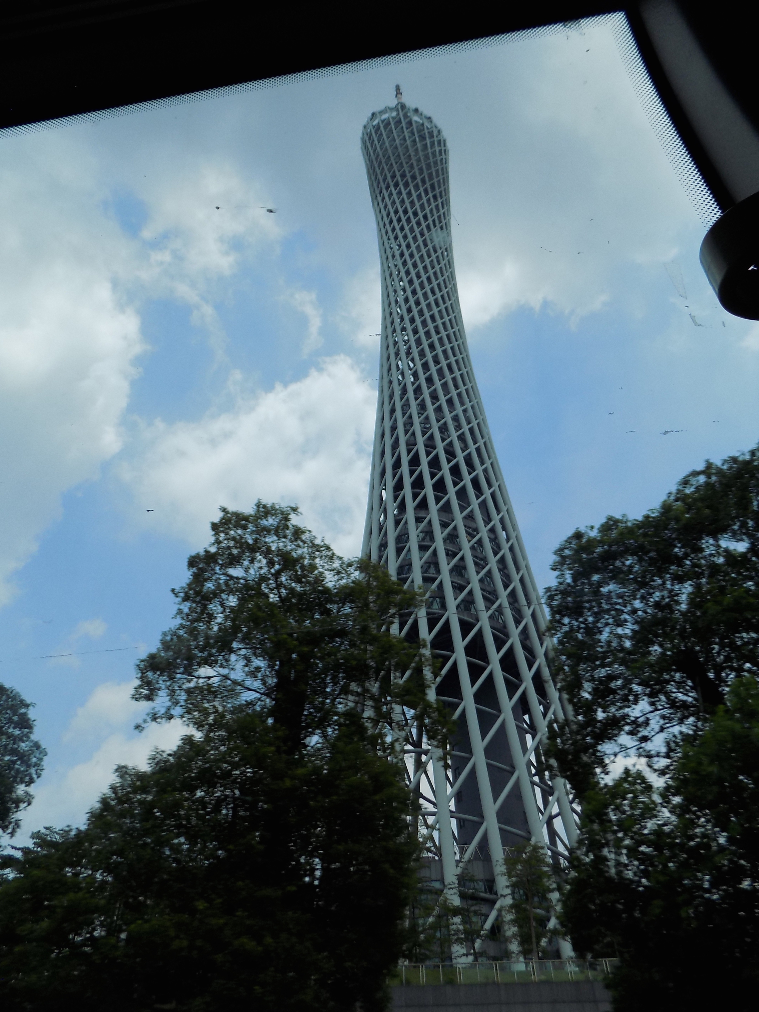 Canton Tower in China - tallest radio tower in the world