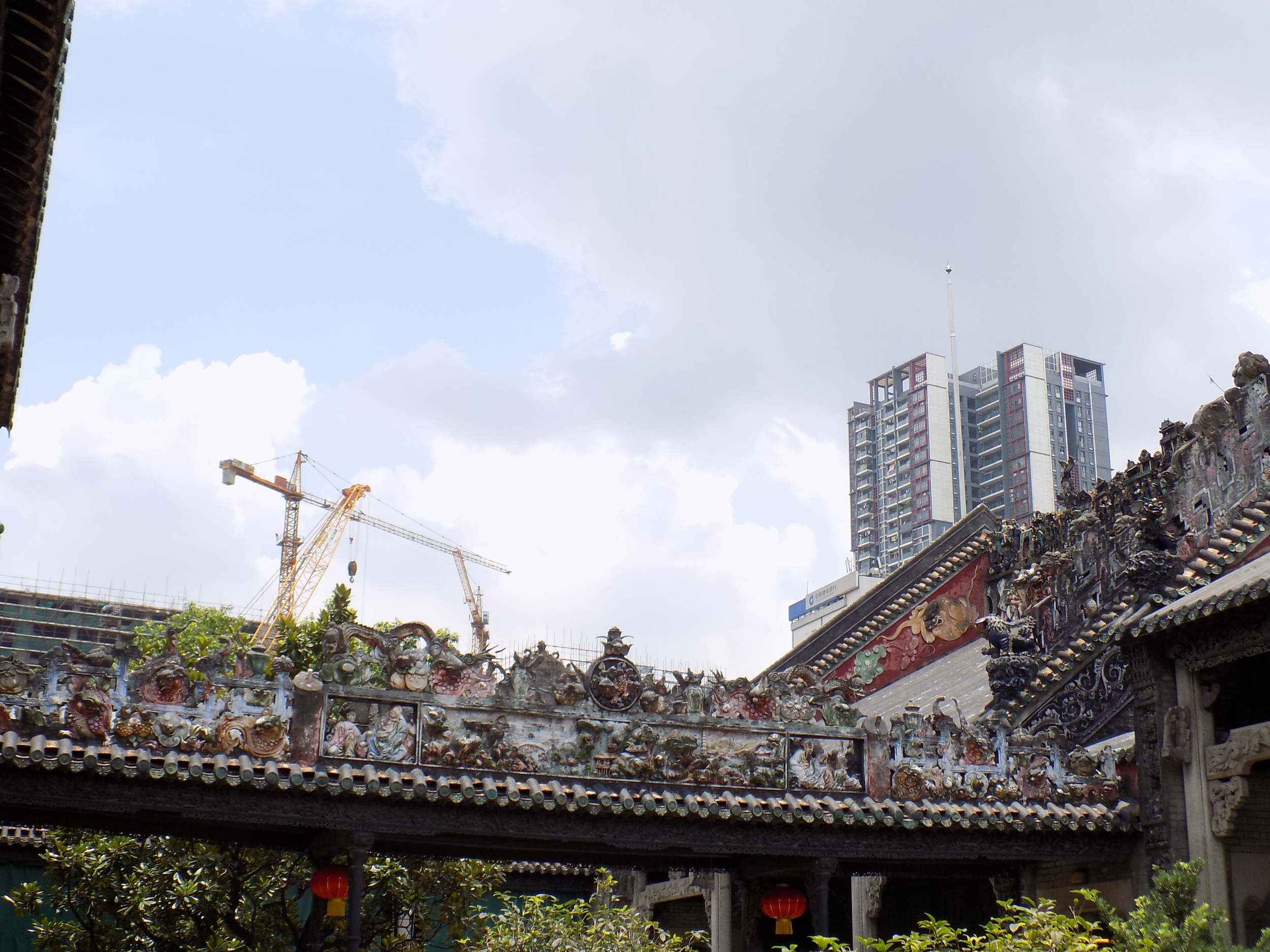 The Chen Clan Academy in Guangzhou,China - a mix of the past, present, and the future