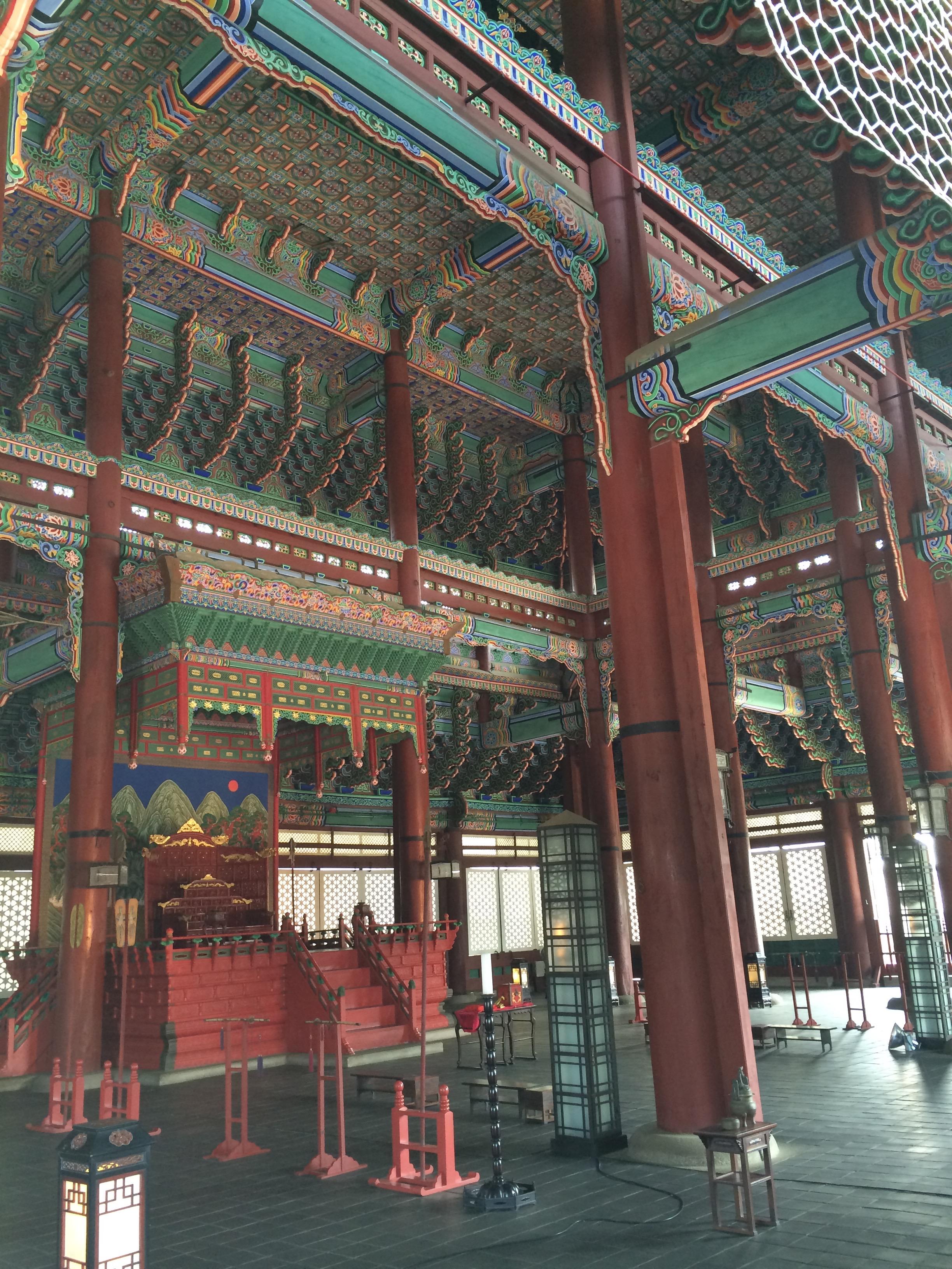 InsideGyeongbokgung Palace