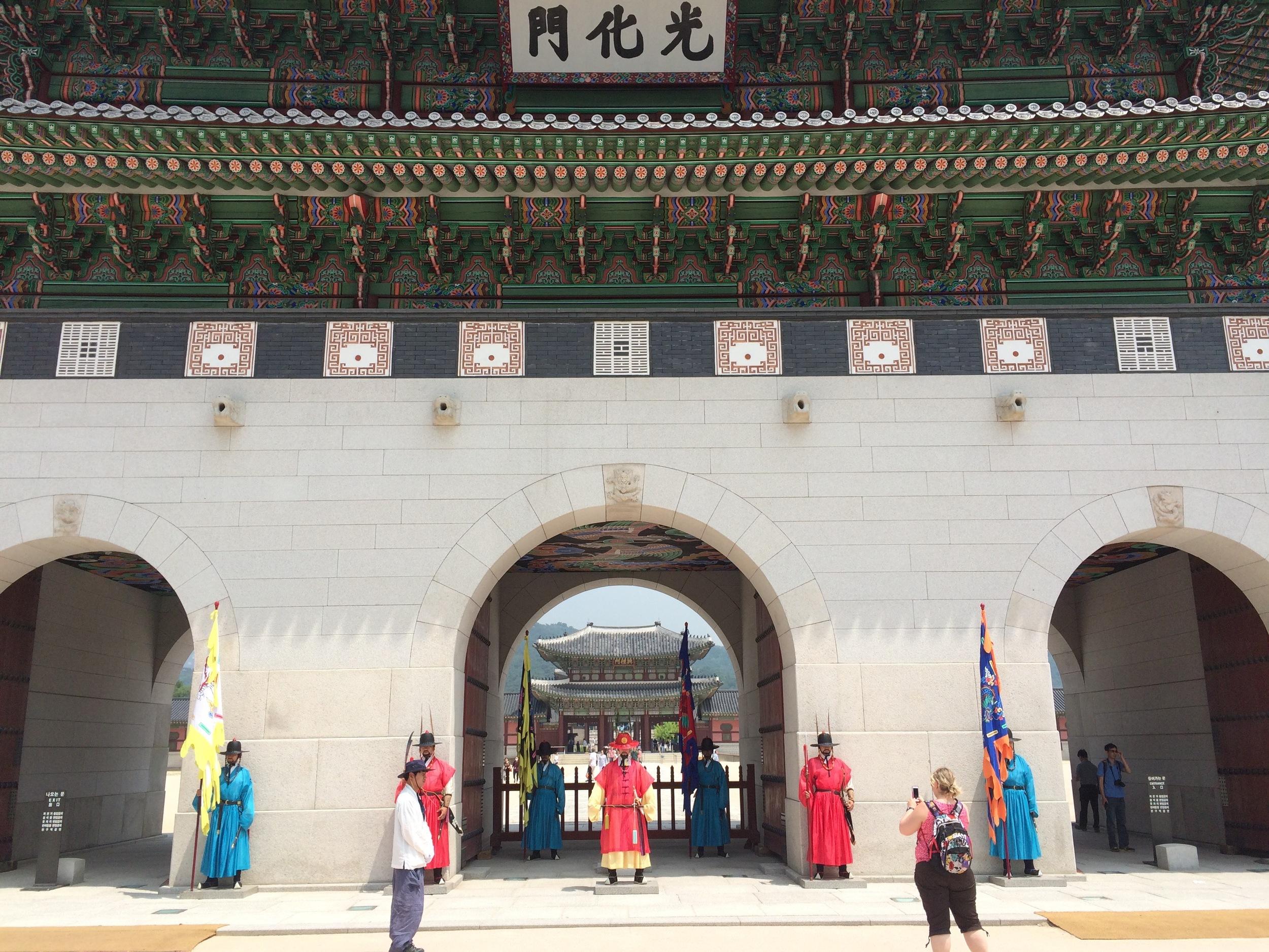 National GuardatGyeongbokgung Palace