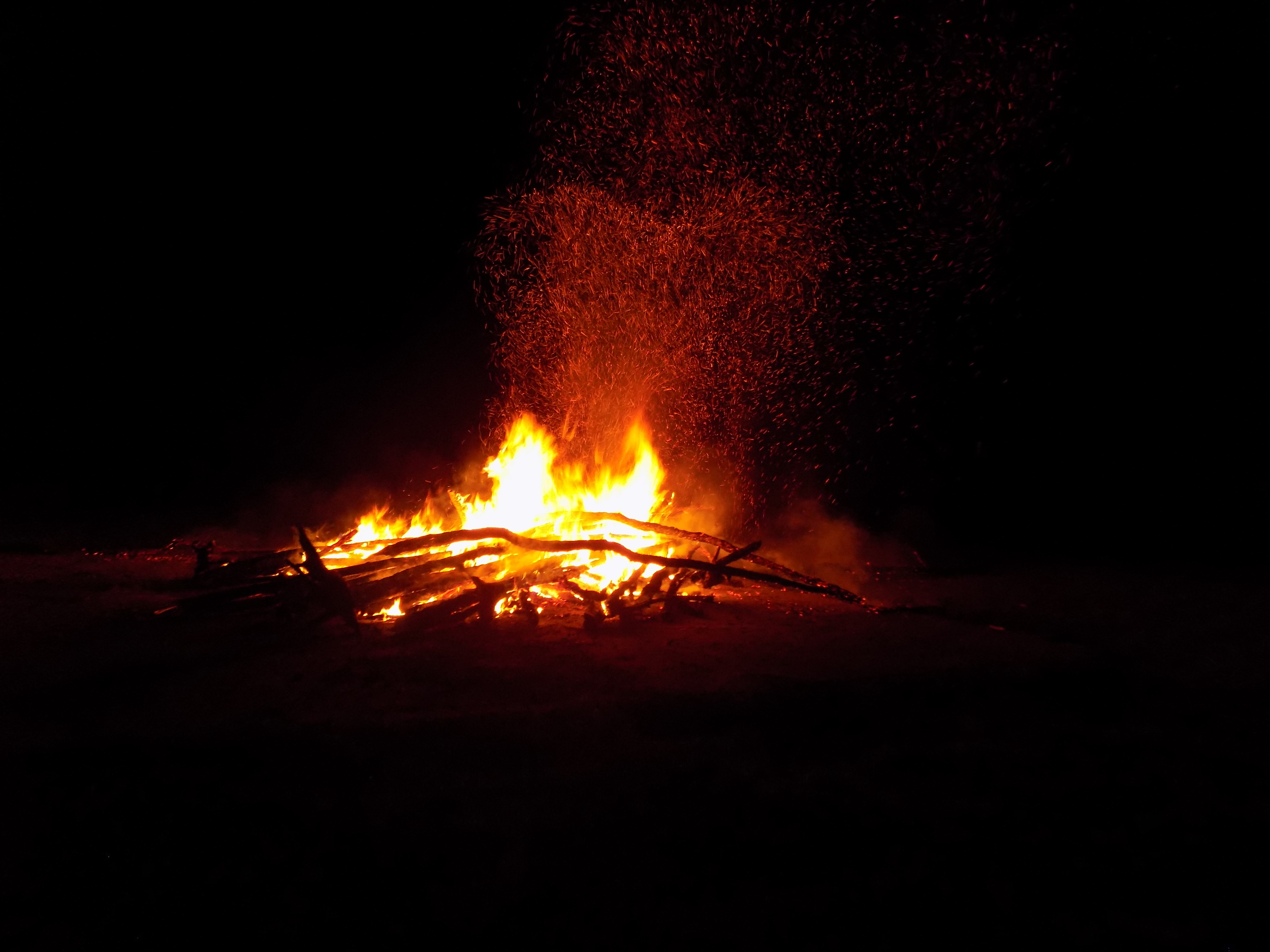Late-night campfire, part 2