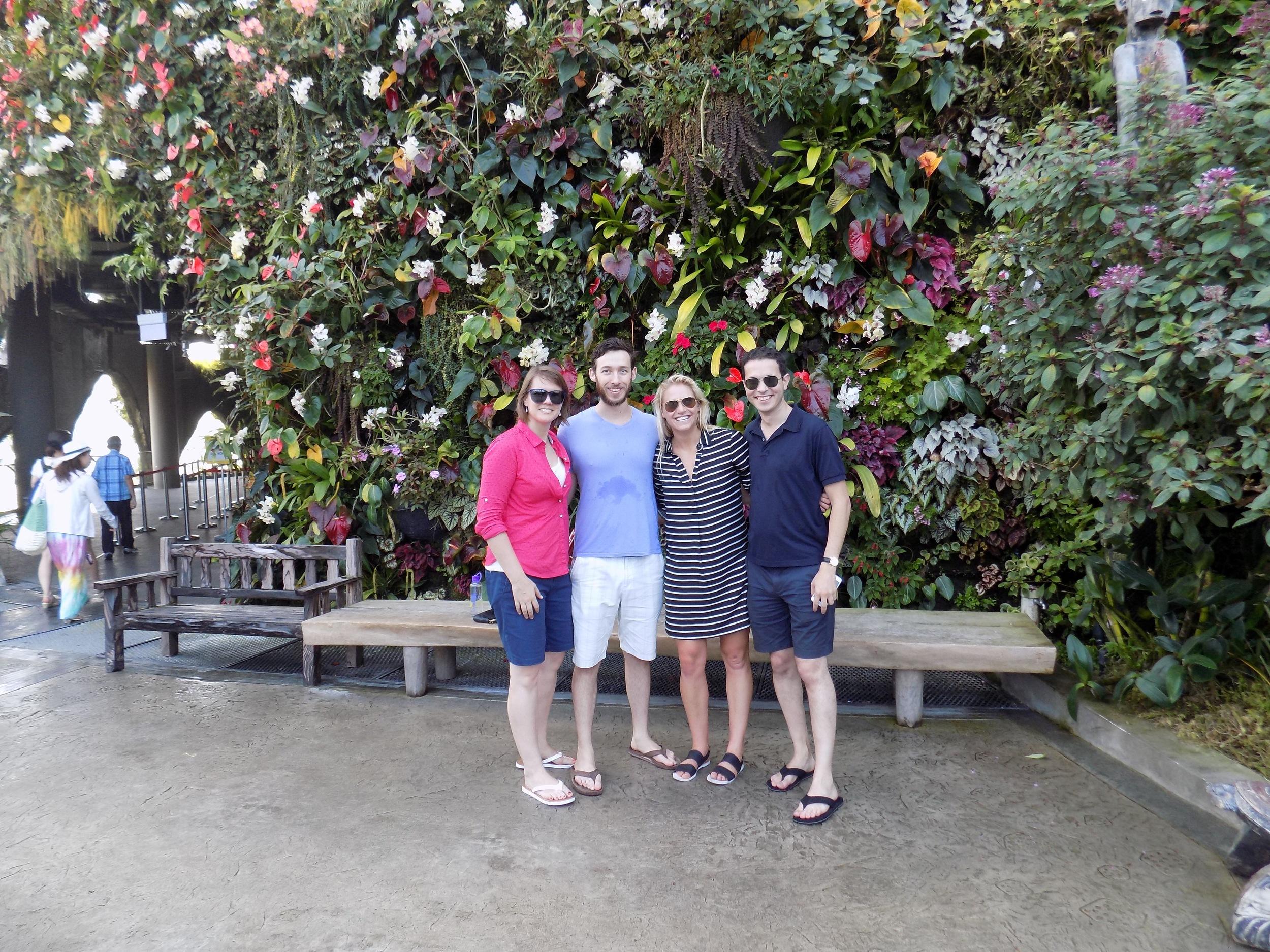 HGSE and Stanford crew - Rachel, Adam, Jaye, Martin
