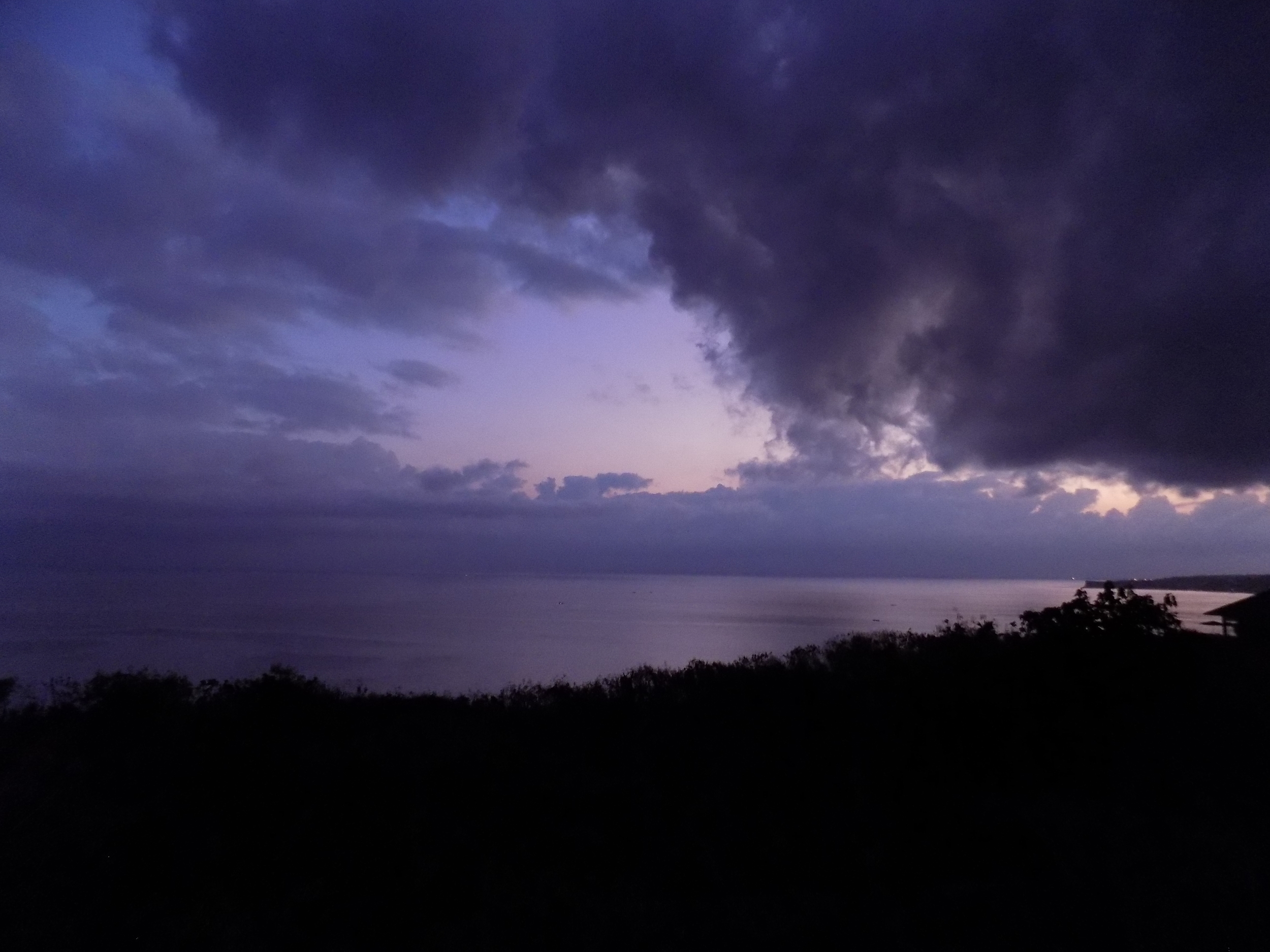 Sunrise on the Indian Ocean