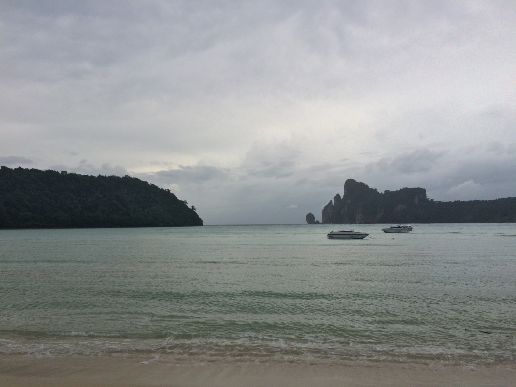 8/6 (8/7 I was in the air flying at sunset....) - Phi Phi Island, Thailand
