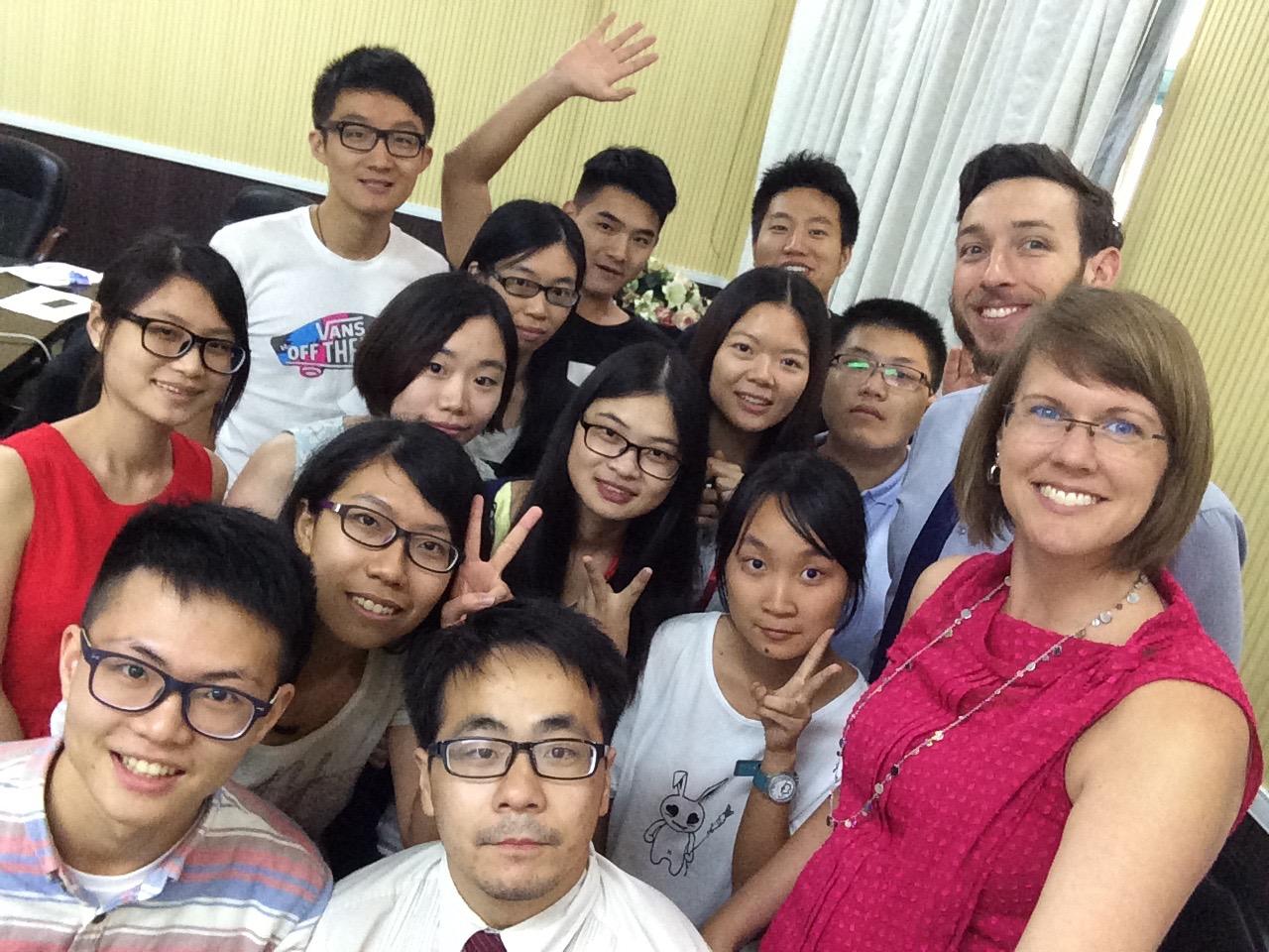 Guangzhou, China - session 1, immunity to change class