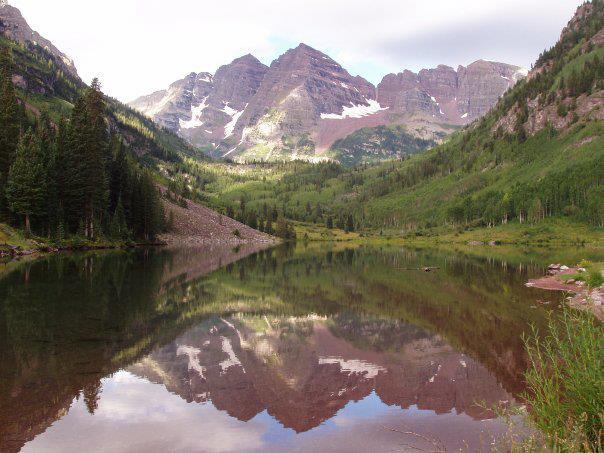 Reflection: Maroon Bells (Colorado) - Summer 2005