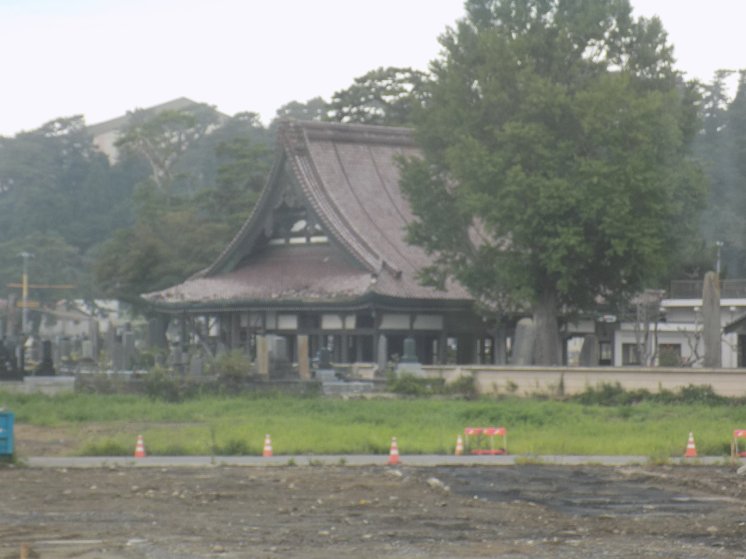 The only building left standing from the tsunami in Ishinomaki.