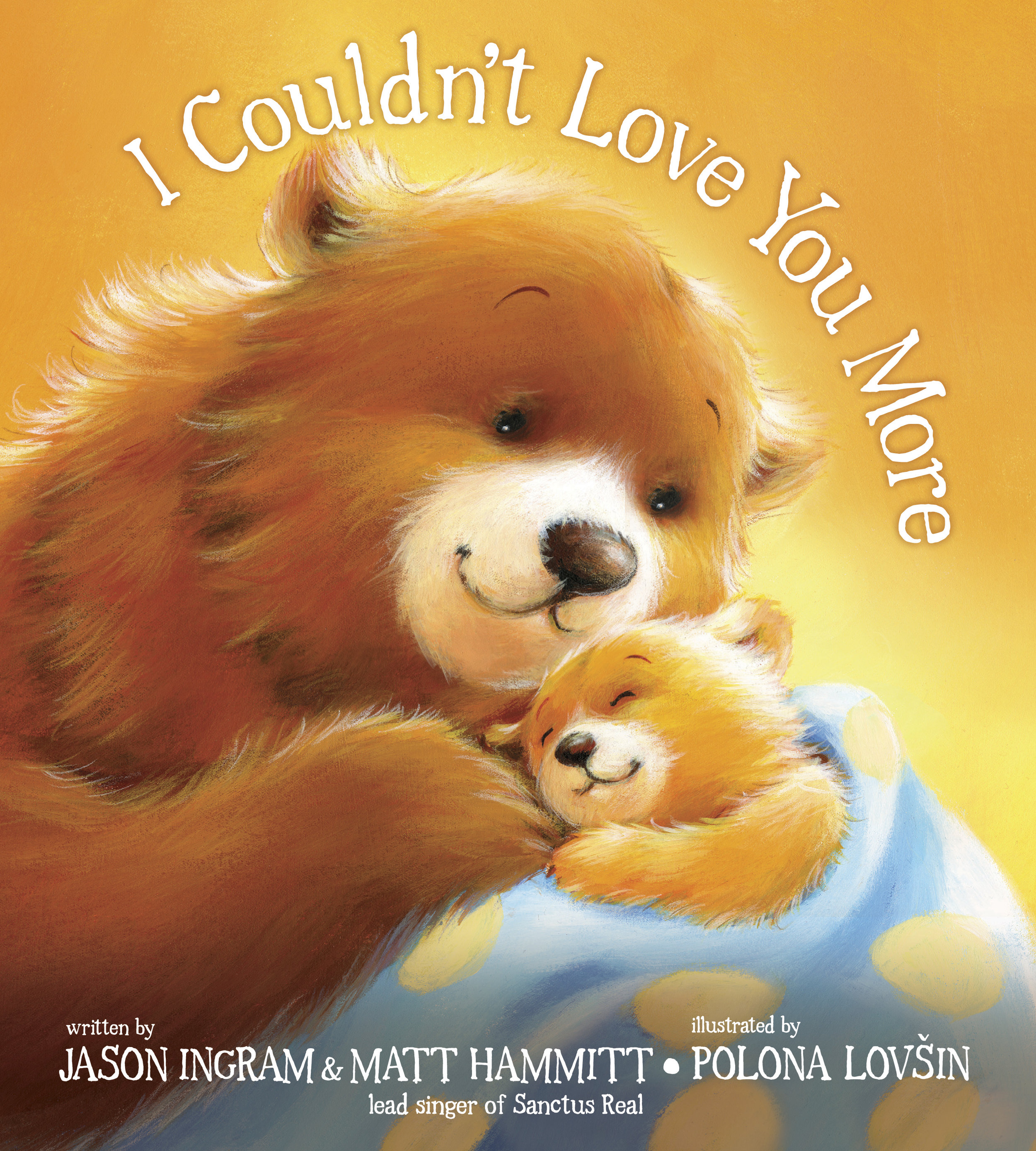 In the same manner as touching picture books like bestsellers  Let Me Hold You Longer  and  Love You Forever, I Couldn't Love You More  tells a sweet, loving, yet powerful message: I couldn't love you more, but there is someone who does. Through the unique relationship of adorable animals, the book shares that Christ is always with you and he loves you more than you can imagine. This engaging picture book combines lovable and irresistible images with the lyrics from the song (co-written by Jason Ingram and Matt Hammitt).